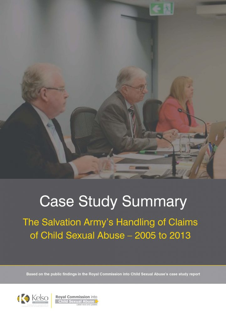 kelso case study salvation army