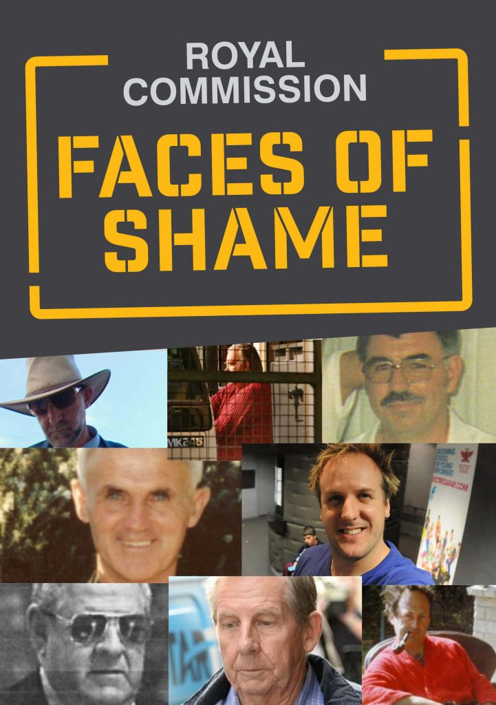 faces of shame