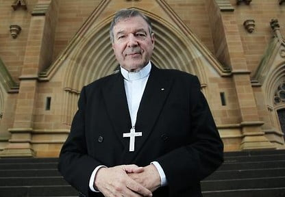 Illness has pervented George PEll from travelling to Sydney from Rome