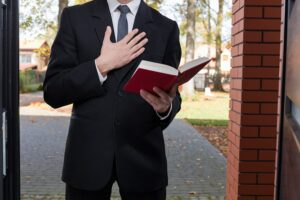 jehovah's witness door knocking