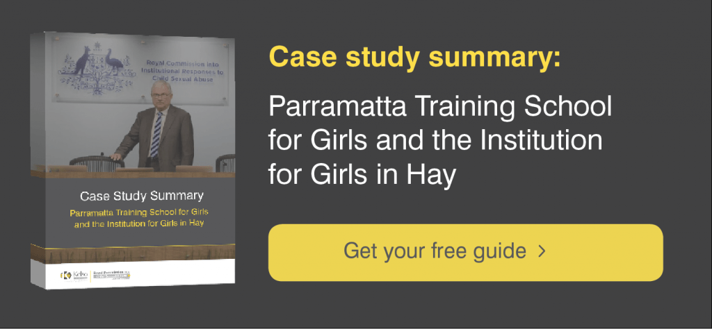 Parramatta Girls Home Case Study