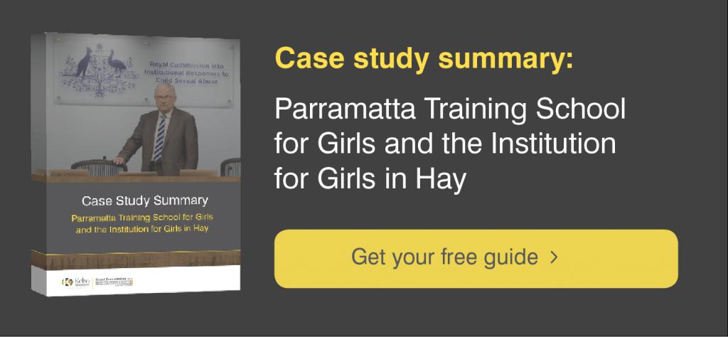 Parramatta Girls Home Case Study