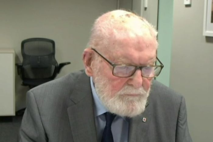 Bishop Wilson at the Royal Commission