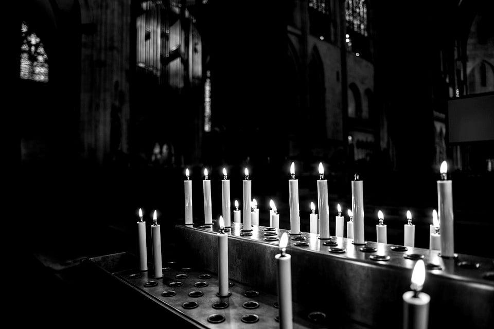 Candles at Altar