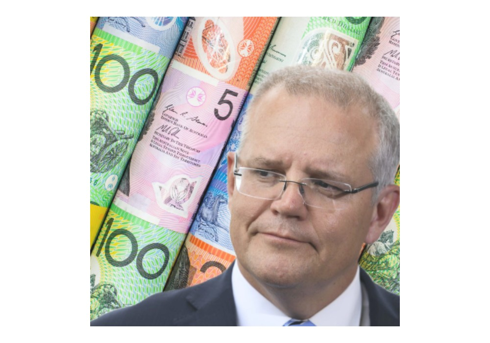 Scott-Morisson-Prime-Minister and money