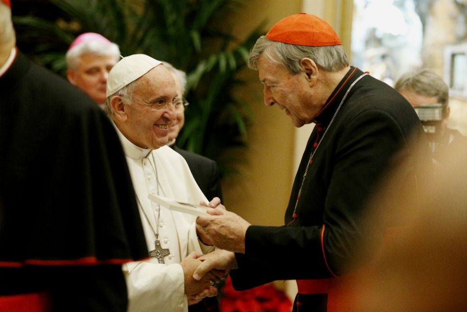 george pell and the pope