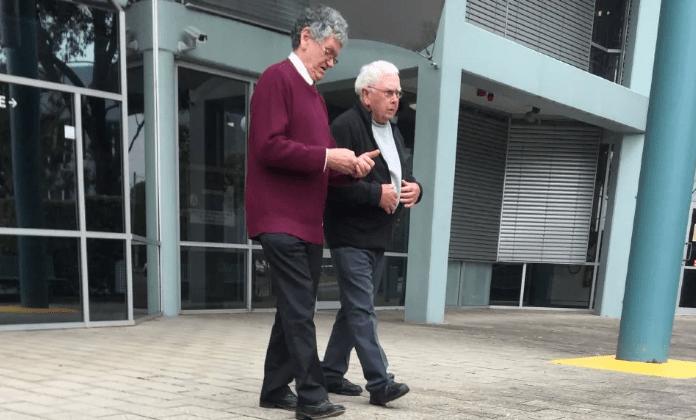 carl stafford leaving court