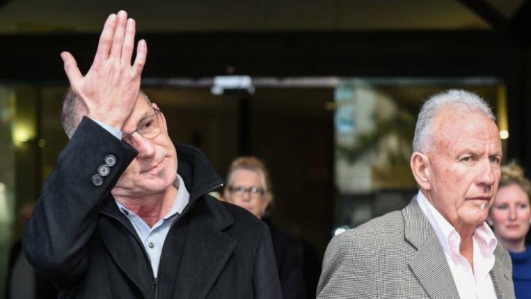 john dunn and terry skippen leaving court