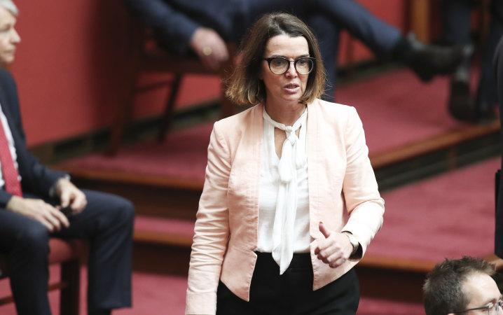 Senator Anne Ruston in parliament