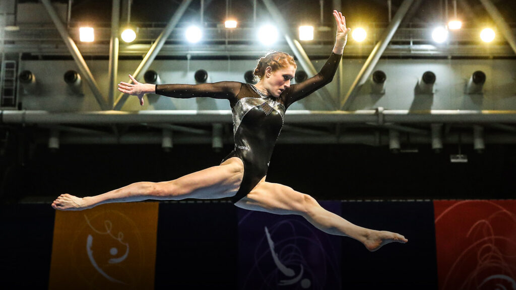 Olympic athlete Olivia Vivian