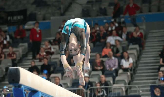 Commonwealth Games medalist Alexandria Eade