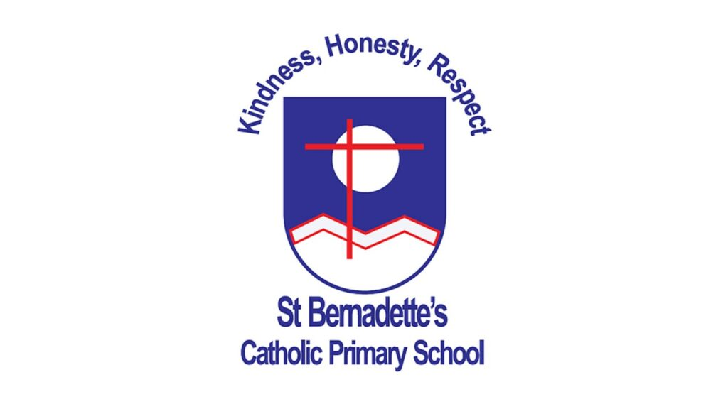 St Bernadette's school emblem