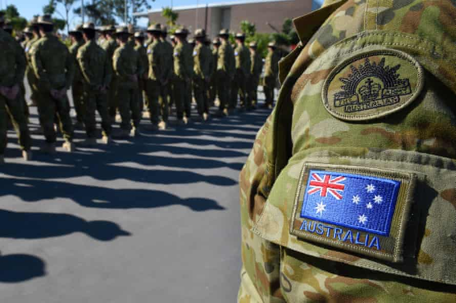 australian army soldiers