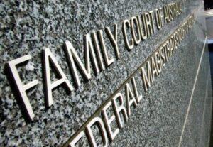 family court of australia signage